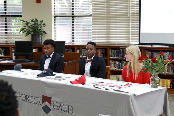 Athletic Signings - Spring 2017