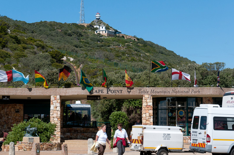 Table Mountain National Park in Cape Point, South Africa