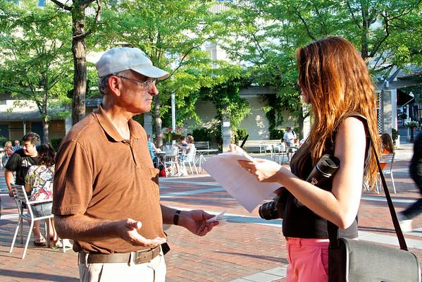 Hiroshima Vigil at Hinds Plaza 8-6-2014