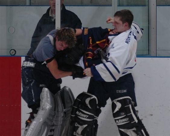 2005 Goalie Fight