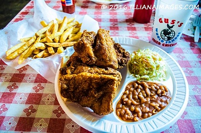 Gus  Famous Fried Chicken, Memphis, Tennesee