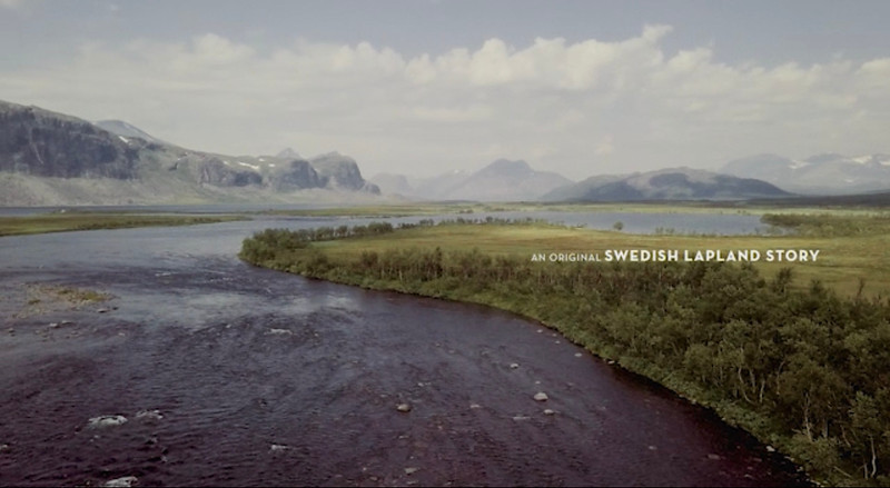 Screen grabs from feature video with Swedish Lapland Tourism: https://www.youtube.com/watch?v=2iELzoh_oJs