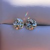 3.40ctw Old European Cut Diamond Pair 16