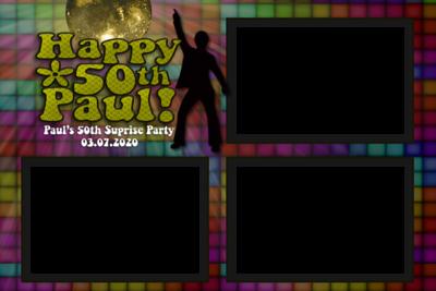 Paul's Surprise Party