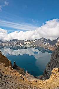 Heaven Lake, Changbai Mountain, Jilin  天池, 長白山, 吉林省
