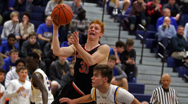 St. Charles East boys basketball vs Wheaton North