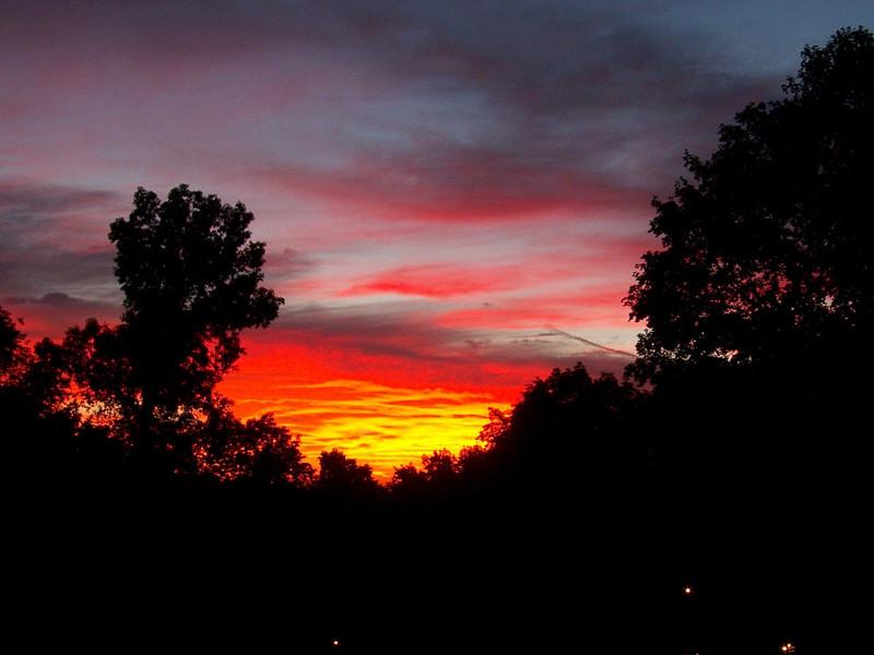 Sunrise - August 17, 2010. Time 6:16:55 am EDT.