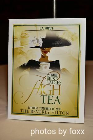 First Ladies High Tea 21 Annual 09.08.2018