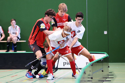 B18 ZGPG red - Floorball Epalinges
