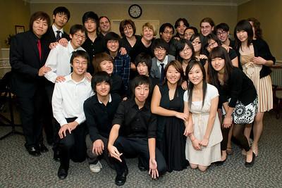Paramus High School Concert and Dance at Dellridge,January 2009, Part 1