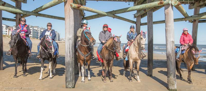 2018 November 3 VB Mounted Police Little Island Pier Ride
