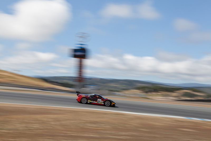 Dan O'Neal in the #12 Ferrari 458 EVO. © 2014 Victor Varela