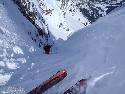 Elferrinne ski tour, Kleinwalsertal 2013-04-04