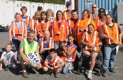 Tamaqua Donation Drop-Off, Community Giveaway, M & M Self Storage, Tamaqua (5-31-2014)