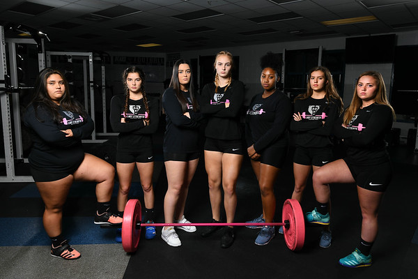 1 Nov 2019 BTHS Girls Weightlifting Team Shoot