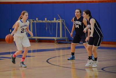 Girls Junior Varsity Basketball - 2015