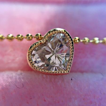 ".47ct Heart Diamond ""Askew"" Pendant"