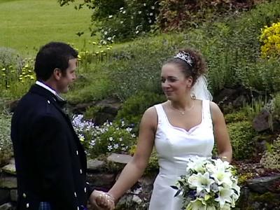 2002 Alan Debbie Wedding Scotland