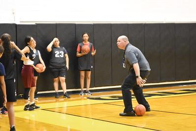 2019 Girls Basketball Practice
