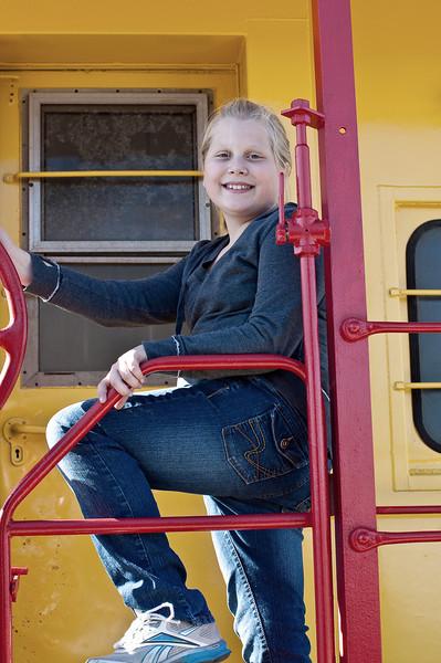 Kathryn on train 01.jpg