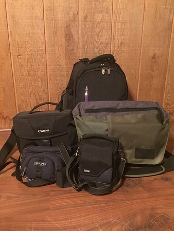 Camera Bags - Why I Have Five, Sort of