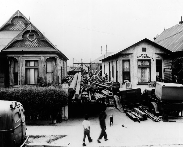 1952, Houses on Naud Street
