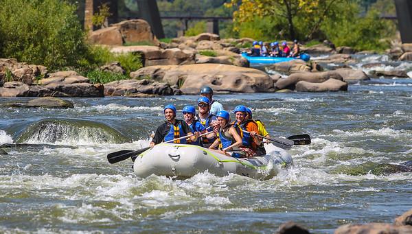 James River 9-7-13 River City Rafting