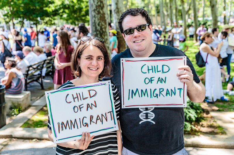 End Family Separation NYC Rally and March