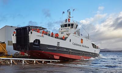 MV Catriona Launch