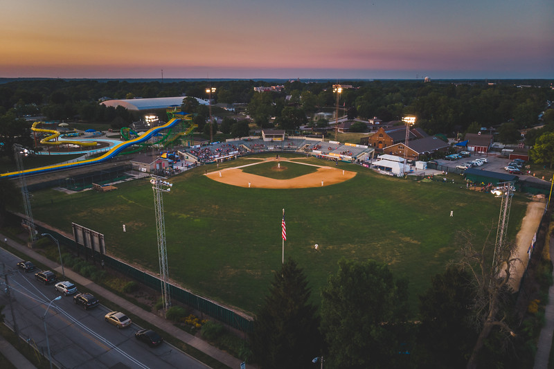 The Lafayette Aviators take on the Champion City Kings at Loeb Stadium on August 1, 2019