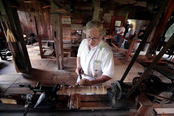 Woodworking at Hancock Shaker Village-090113