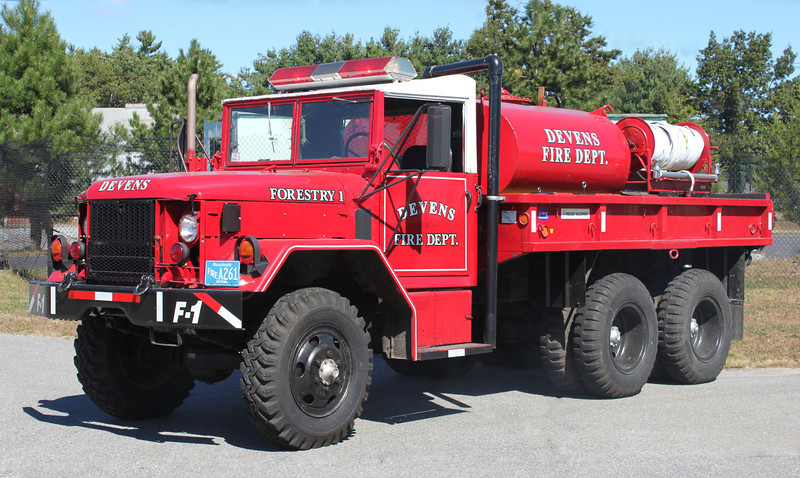 Forestry 1 1983 AM General 6x6 250/650