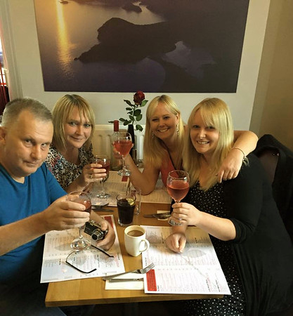 meal  in Halifax: 18th August 2015