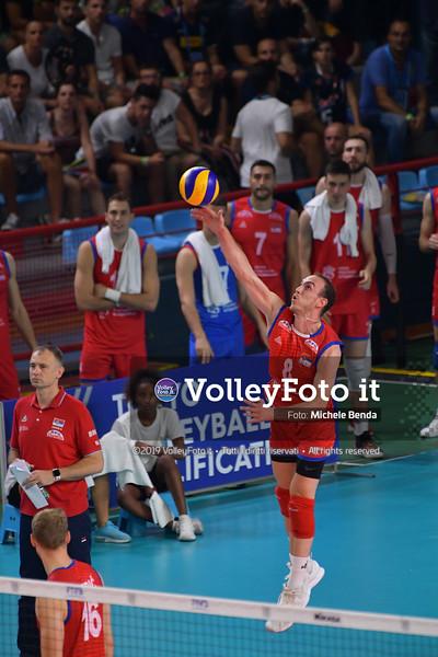 ITALIA vs SERBIA, 2019 FIVB Intercontinental Olympic Qualification Tournament - Men's Pool C IT, 11 agosto 2019. Foto: Michele Benda per VolleyFoto.it [riferimento file: 2019-08-11/ND5_7098]