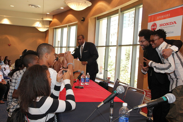 Tavis Smiley Foundation Youth to Leaders Conference 2011 - Listen to Your Own Voice - Lupe Fiasco and Dr. Cornel West 7-24-2011