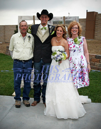 Cvancara Wedding - Families