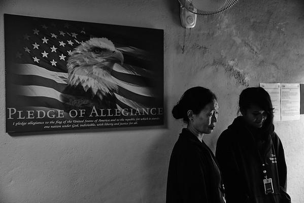 Burmese refugees - single mother with four teenage kids