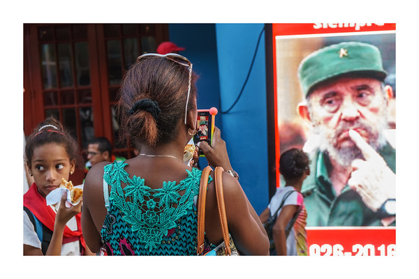 Nov-Dec 2016. Fidel Castro Farewell - Havana and Santiago