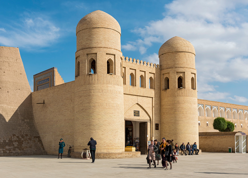 West Gate, Khiva