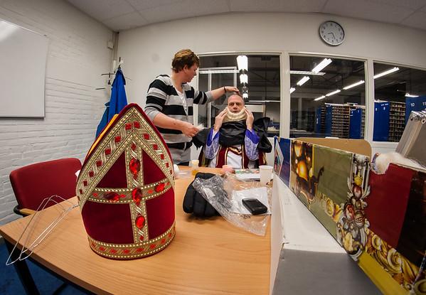 Sinterklaas intocht 2010 - Achter de Schermen