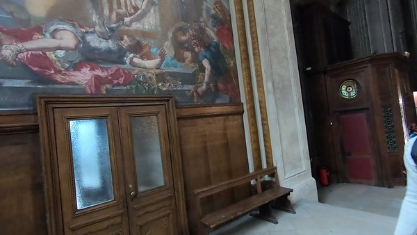 Secret behind the Delacroix paintings in St. Sulpice Church