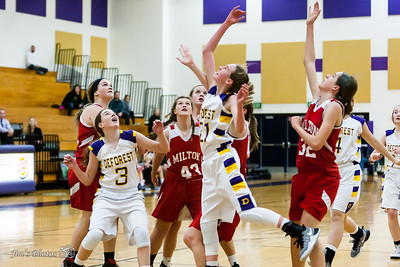 HS Sports - DeForest Girls JV Basketball - Nov 22, 2016