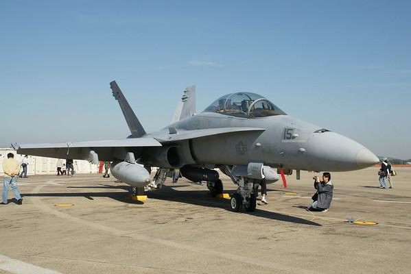 Osan Air Base Korea Air Power Day 2008