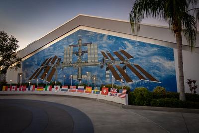 International Space Station Mural