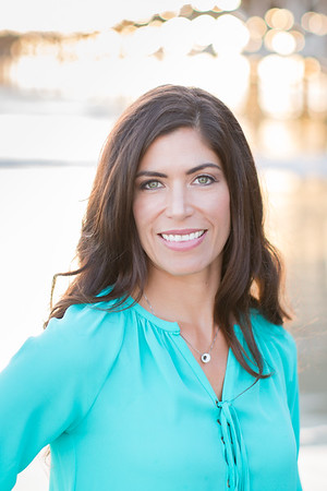 Professional headshot - sunset outdoor photographs - Dr. Val Rock 09/05/2016