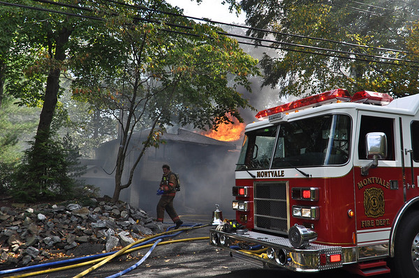 10-7-10 Montvale, NJ 2nd Alarm: 69 Woodland Road