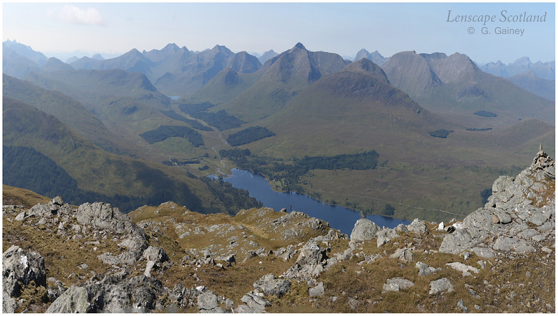 View west from Beinn Dothaidh, Bridge of Orchy