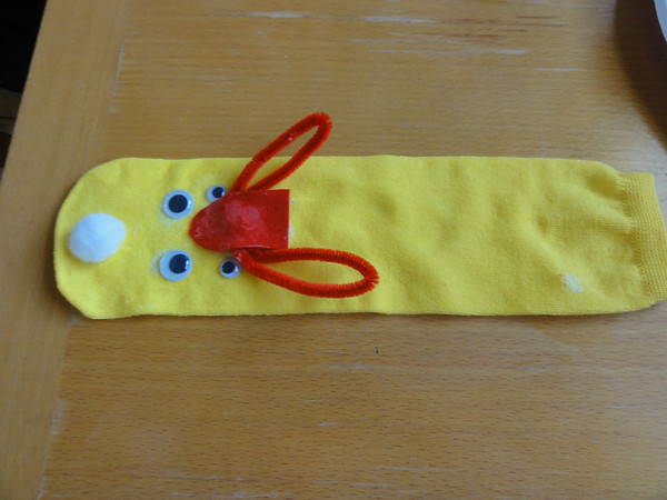 Let's Make Sock Puppets!