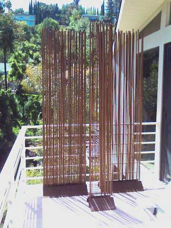 Reeds curtain installed in Los Angeles