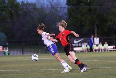 Mar 27 - Dallas Cup - 98GRed vs FC Dallas 99 ECNL